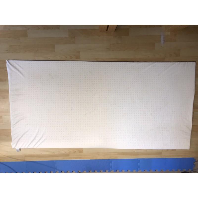 二手 好市多CASA 單人乳膠床墊 附換洗布
