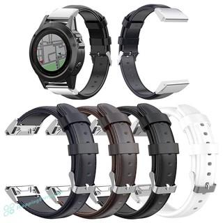 SV 26mm油蠟PU皮革錶帶,適用於Garmin Fenix 6X /  5X /  5X Plus /  3