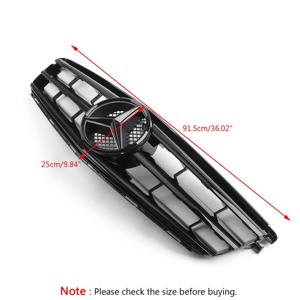 Benz專用水箱護罩(附LED燈)適用 C Class W204 C300 C350 08-14-極限超快感!
