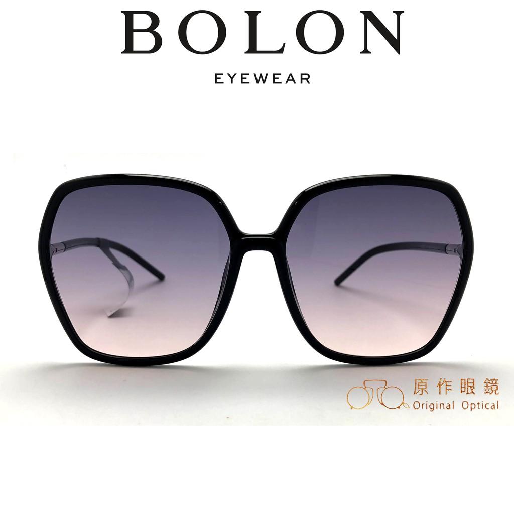 BOLON 太陽眼鏡 BL5032 A13 (黑) 漸層灰粉鏡片 墨鏡【原作眼鏡】
