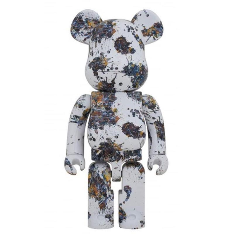 Be@rbrick潑墨三代 Jackson Pollock Studio 1000% Bearbrick 藝術家
