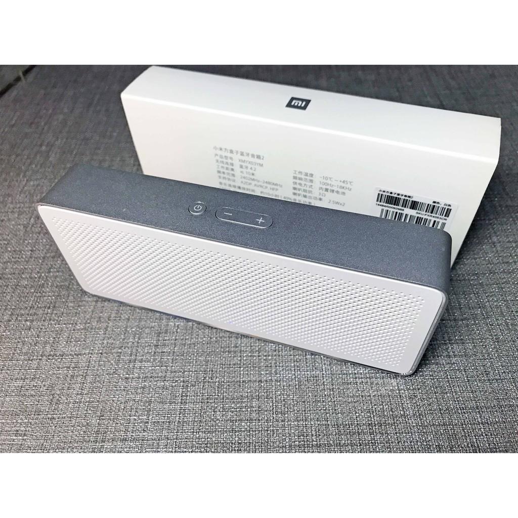 小米方盒子藍牙音箱2 【極新二手良品】