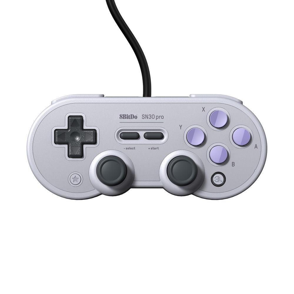 適用於Nintendo Switch Windows Raspberry Pi的8BITDO SN30 Pro USB遊