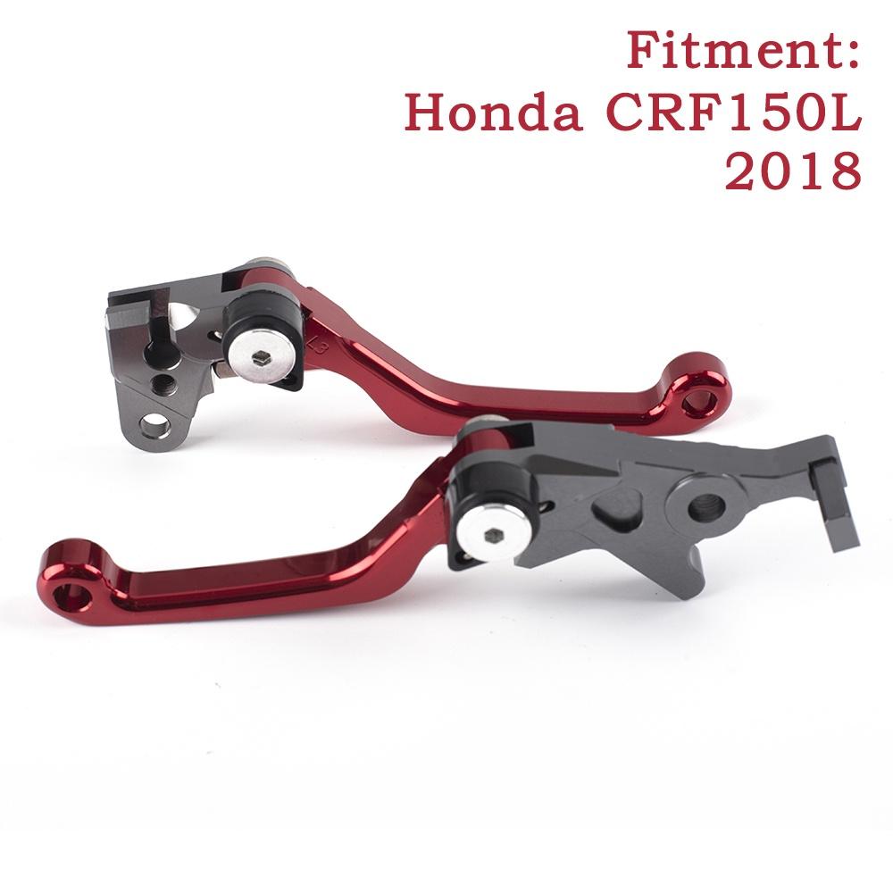 HONDA Crf150L 剎車手柄 CNC 摩托車離合器剎車桿手柄, 適用於本田 CRF150L 2018