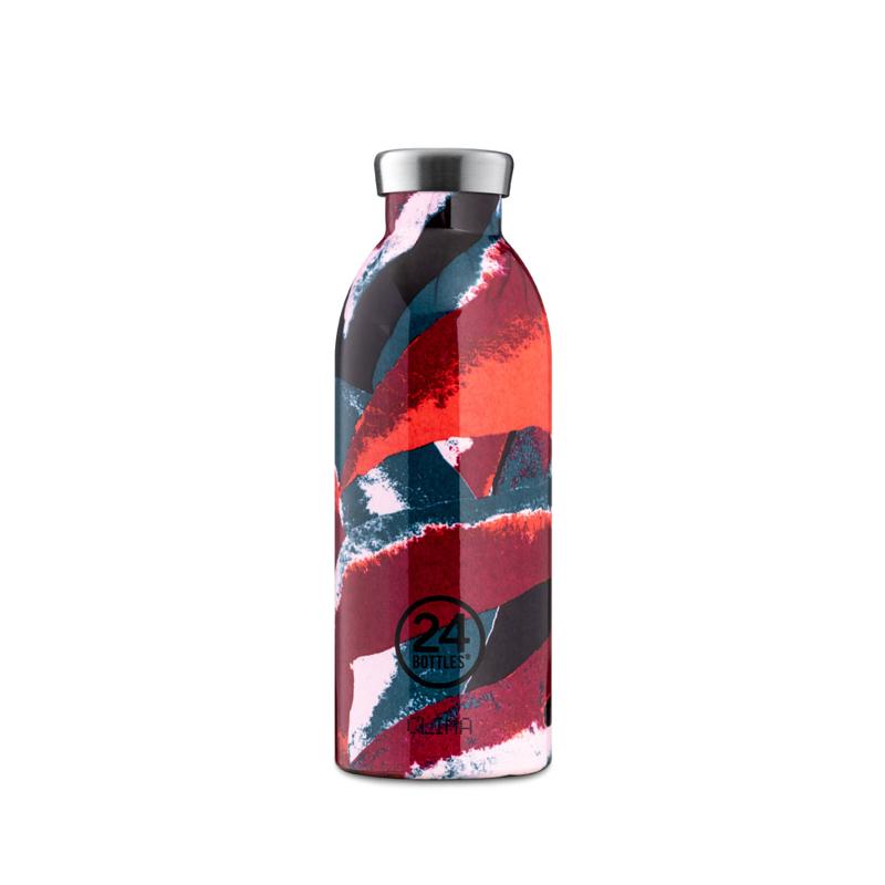 【24Bottles 城市水瓶】不鏽鋼雙層保溫瓶 500ml/花焰