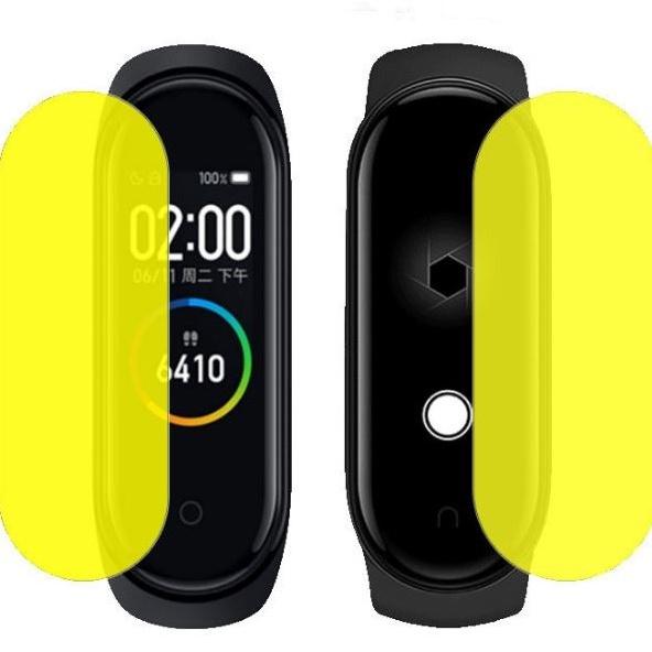 適用小米手環5/6 屏幕保護膜 高清全屏3D#水凝膜# 防摔TPU自動修復軟膜
