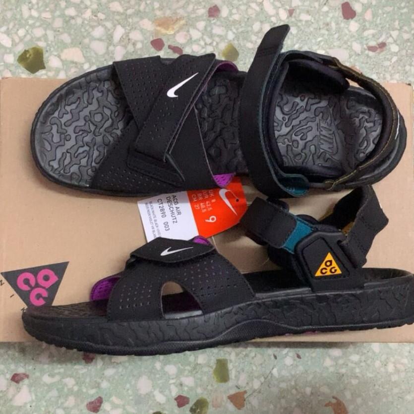 【X-X】正品 Nike ACG AIr Deschutz Black 黑紫 涼鞋 潮流 男女款 CT2890-003