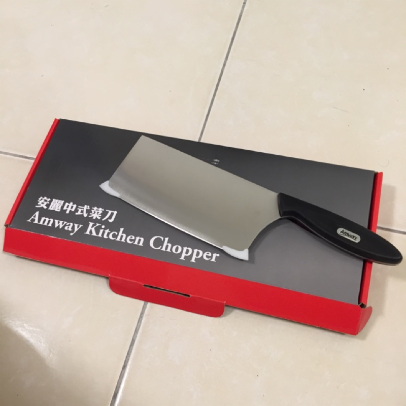 全新 安麗中式菜刀 7吋中式菜刀 安麗刀