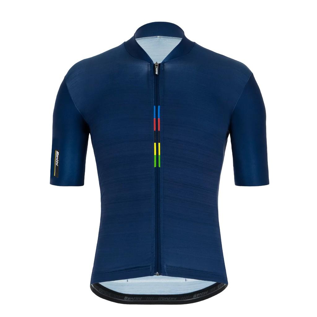 Santini UCI彩虹一流短車衣《新店美利達旗艦店》