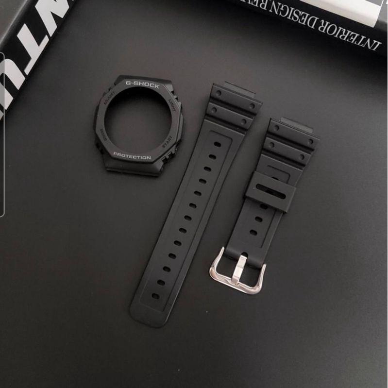 CASIO G-SHOCK GA2100專用改裝橡膠錶帶/錶殼