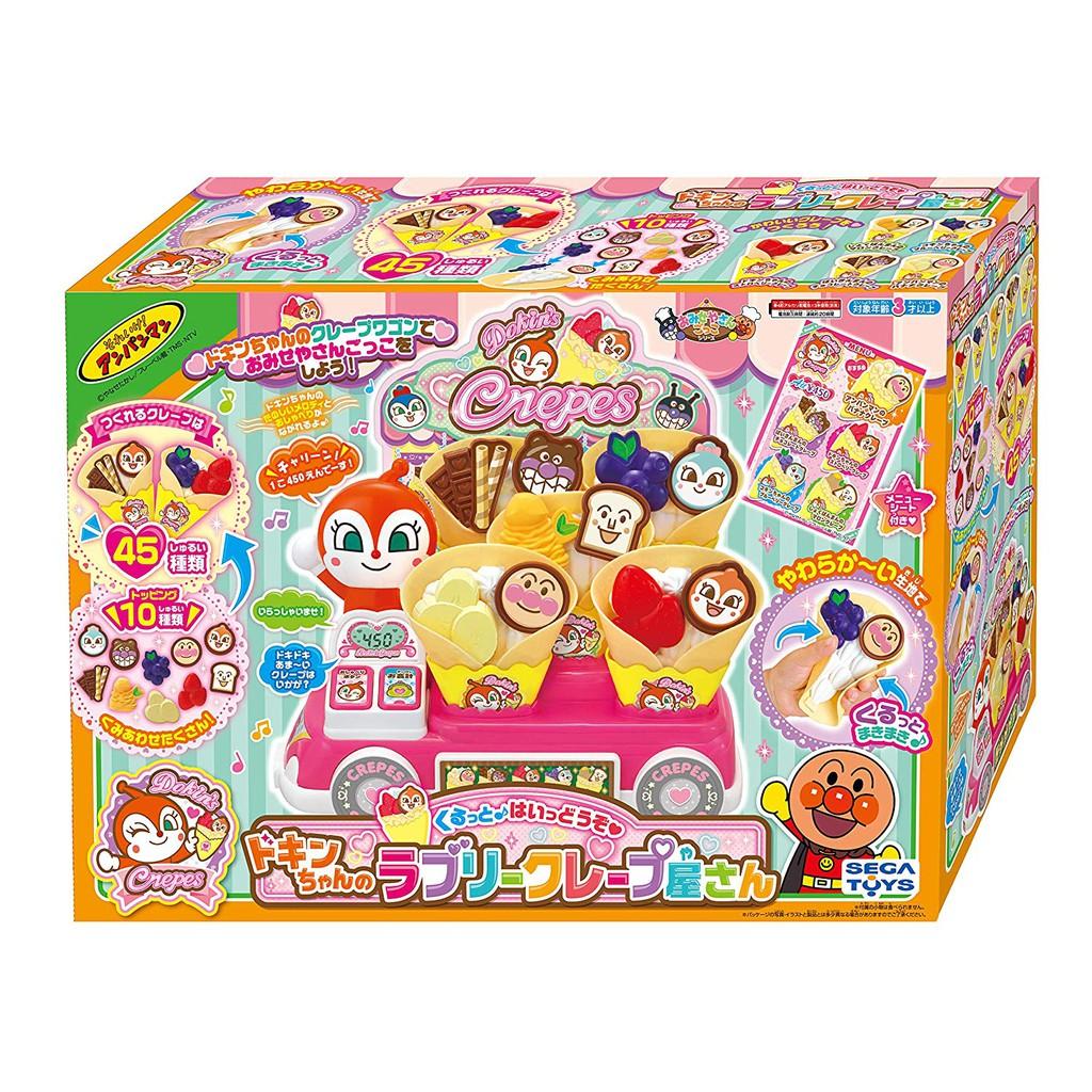 (現貨) 麵包超人 家家酒 餐車 紅精靈 冰淇淋 鬆餅 餅乾 可莉餅 可麗餅 商店組 (日本正版) 《Us的麵包超人》