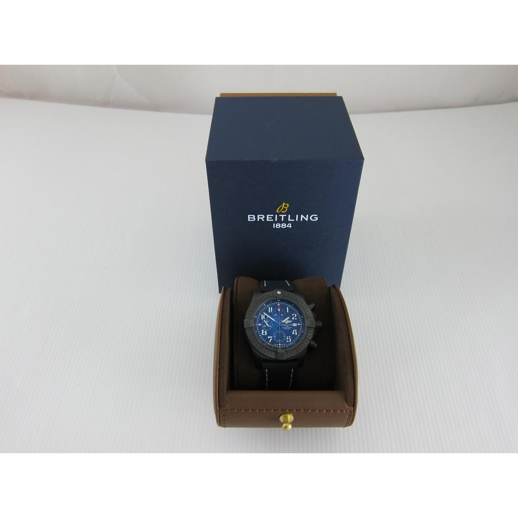 BREITLING百年靈 V13375101C1X2 超級復仇者夜間任務計時腕錶*只要99000元*(B0335)
