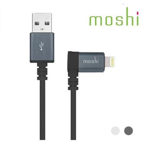 MFI認證 moshi Lightning 90° 彎頭傳輸線 1.5M 數據線 數據傳輸線 充電線 apple認證