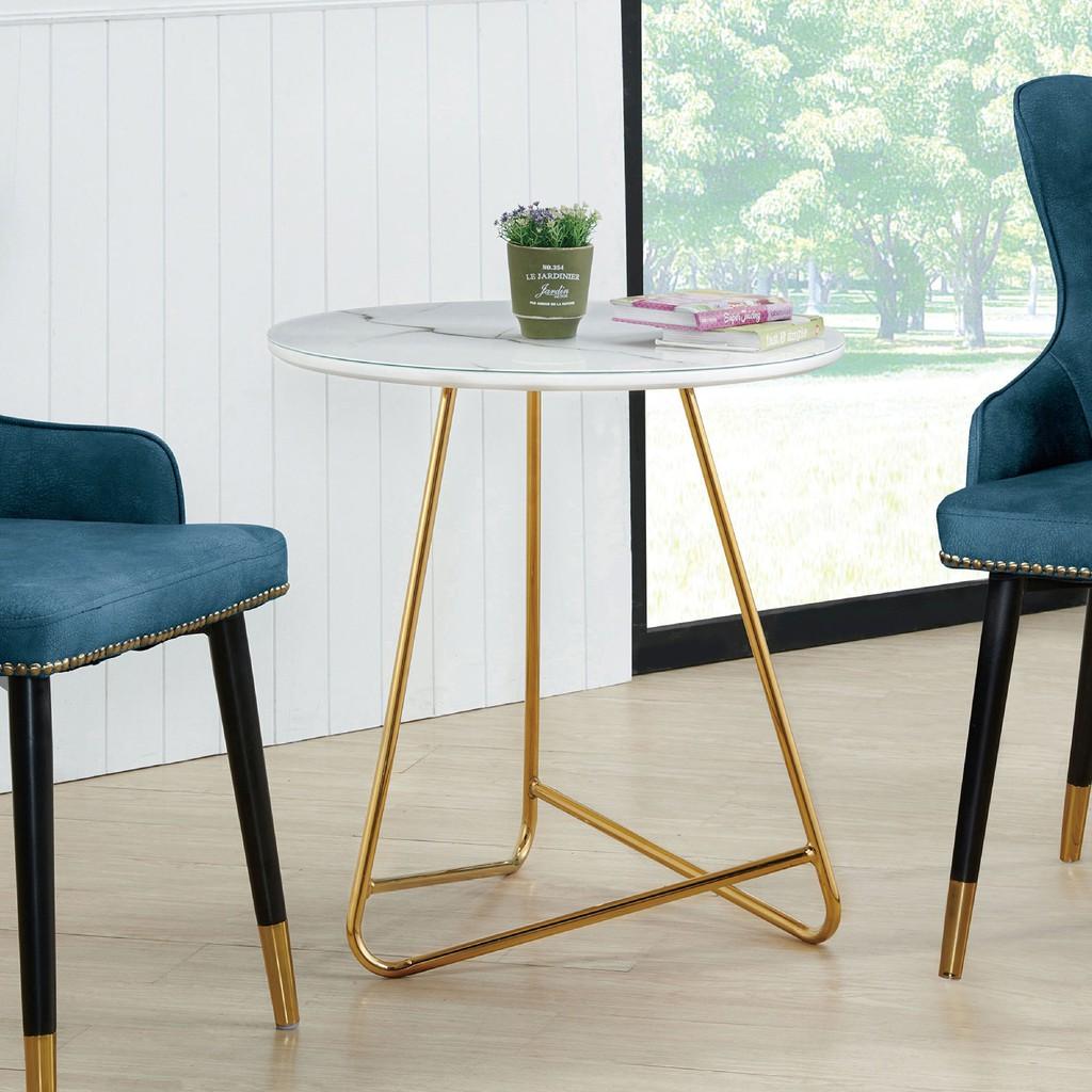 【60cm玻璃茶几-A337-2】實木原木玻璃 大理石長方桌 大小邊几 圓桌  【金滿屋】