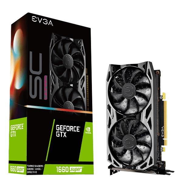 艾維克 EVGA GeForce GTX 1660 SUPER SC ULTRA GAMING 全新未拆封