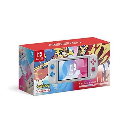 (日本代訂數量限定特典付)NS Nintendo Switch Lite 精靈寶可夢 劍 盾 限定主機 日規機