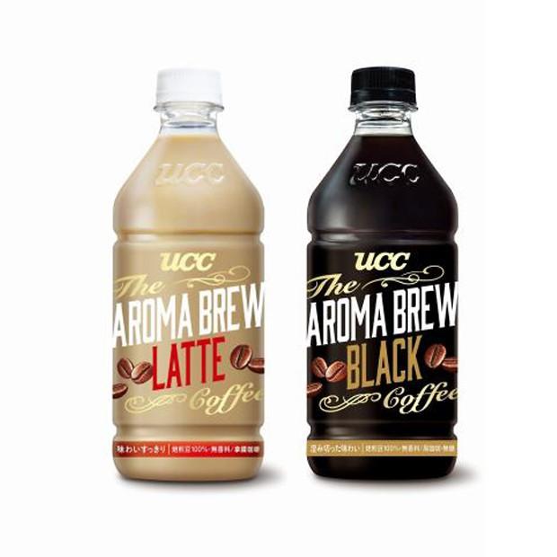 免運UCC 艾洛瑪拿鐵/黑咖啡525ml(24入) 瓶裝咖啡 AROMA BREW