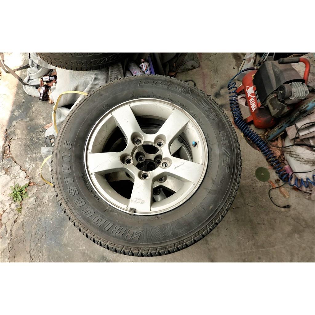 JIMNY原廠廠鋁圈+205/70/15輪胎X4 139.7 5.5J ET5 5爪15吋鋁圈 JB43 JB74吉星