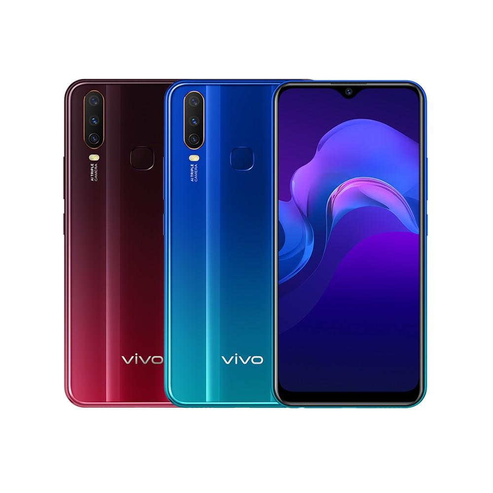 VIVO Y12 3GB /64GB 6.35 吋螢幕八核雙卡AI三鏡頭智慧手機