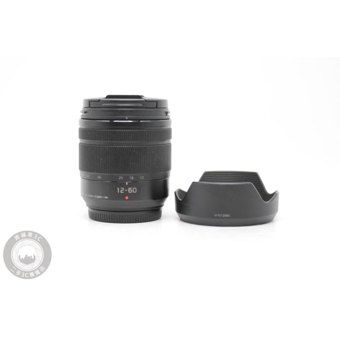 【高雄青蘋果3C】panasonic 12-60mm f3.5-5.6 ASPH G VARIO OIS #55341