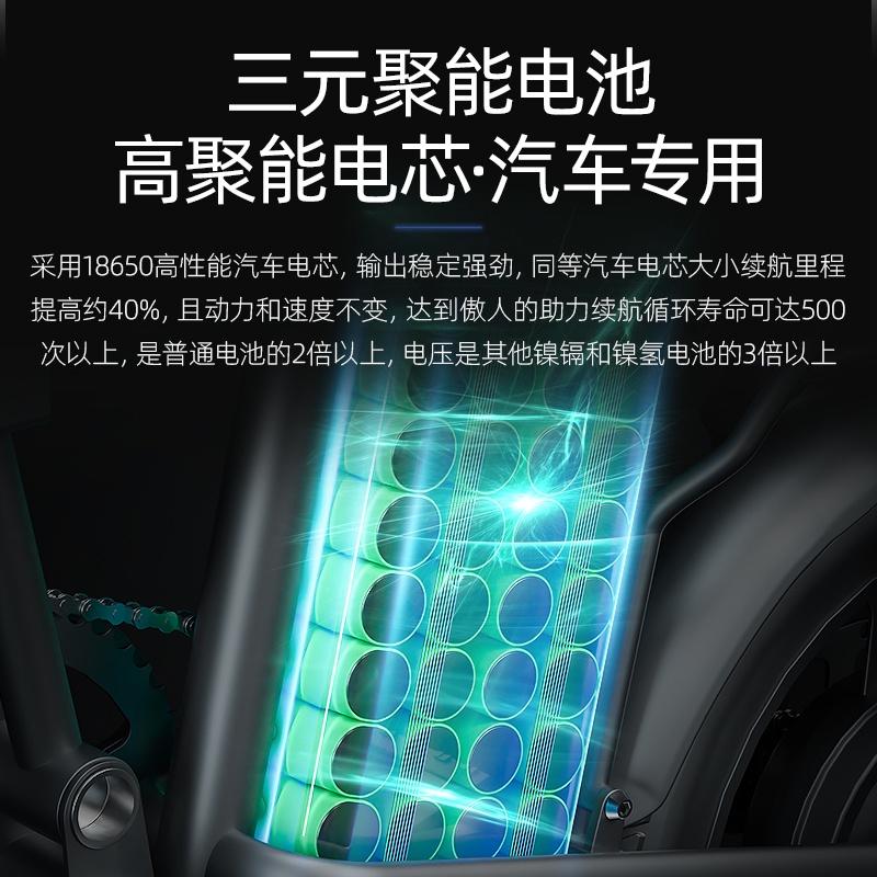 德國IFREEGO 折疊電動自行車代駕小型鋰電池超輕便攜新國標電瓶車