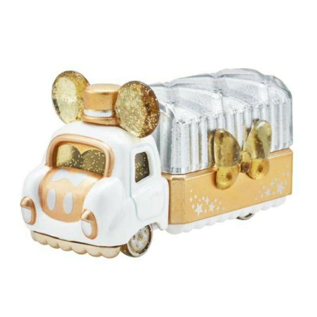TOMICA 多美小汽車 DISNEY 迪士尼 JW首飾收納珠寶車 米奇 金色貨車 卡車 透明水晶車 珠寶盒車 公主車