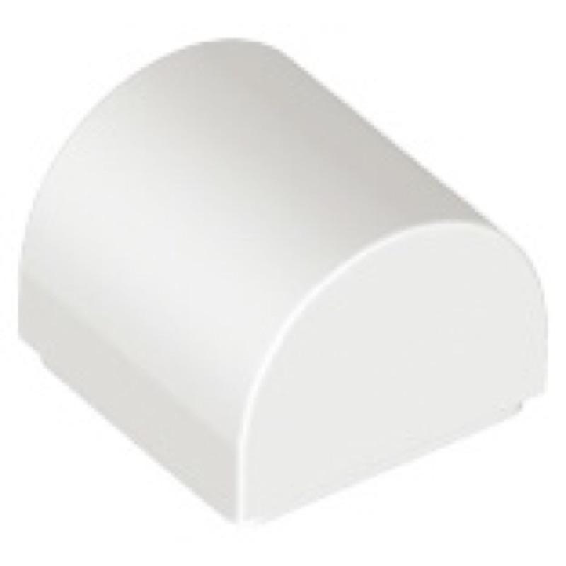 樂高 LEGO 1x1x2/3 小圓弧磚 白色(49307 10267 40337 21318)