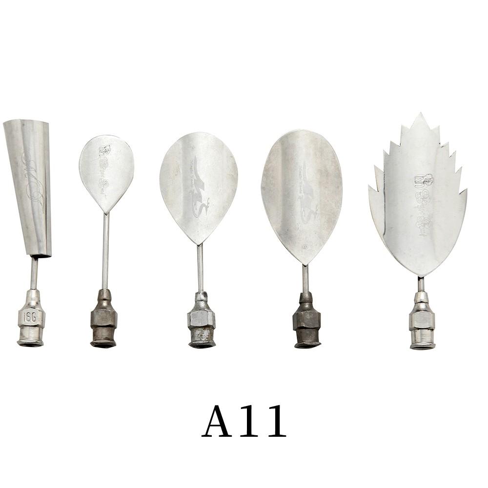 優果《越南進口不鏽鋼果凍花針A11》每組內含5支針