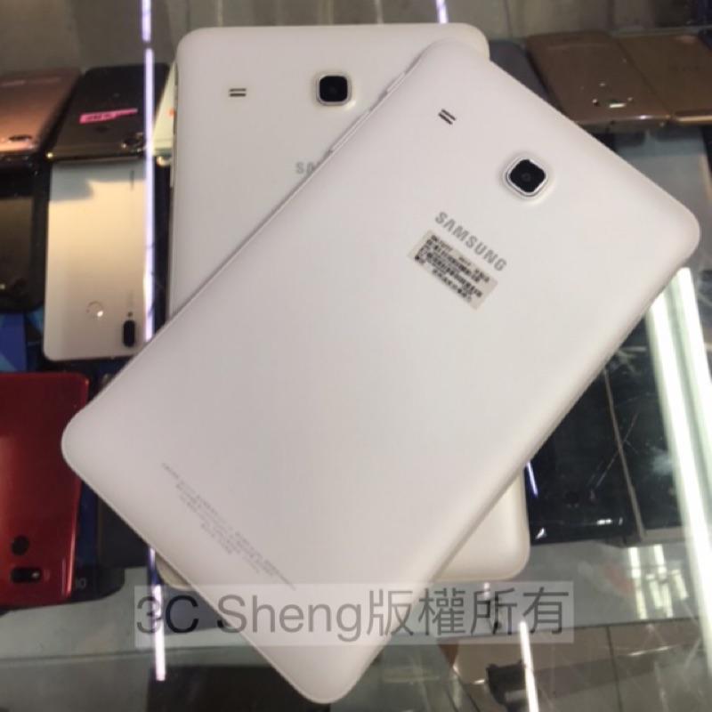 9成新 Samsung Tab E T377 8吋 2+16G 台中 永和 實體店 可以插卡 可以打電話