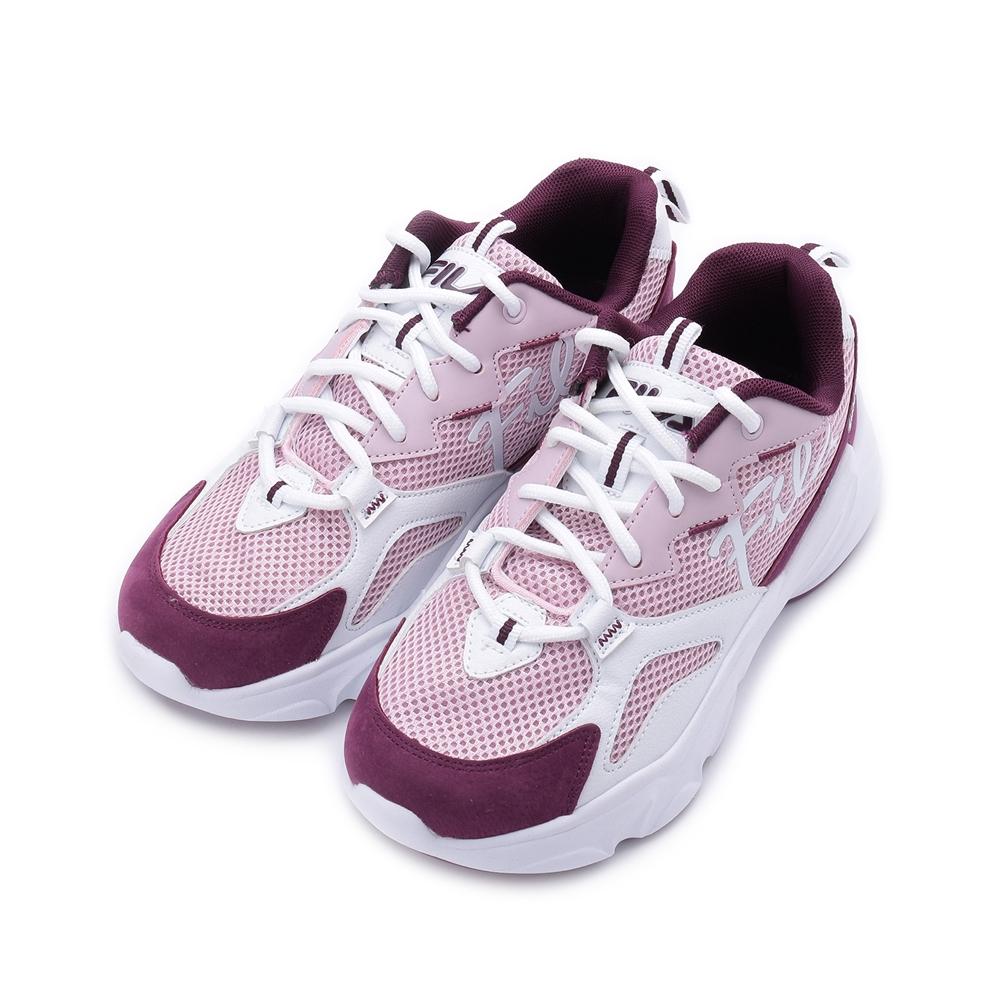 FILA 草書標誌老爹鞋 紫 5-J324V-551 女鞋