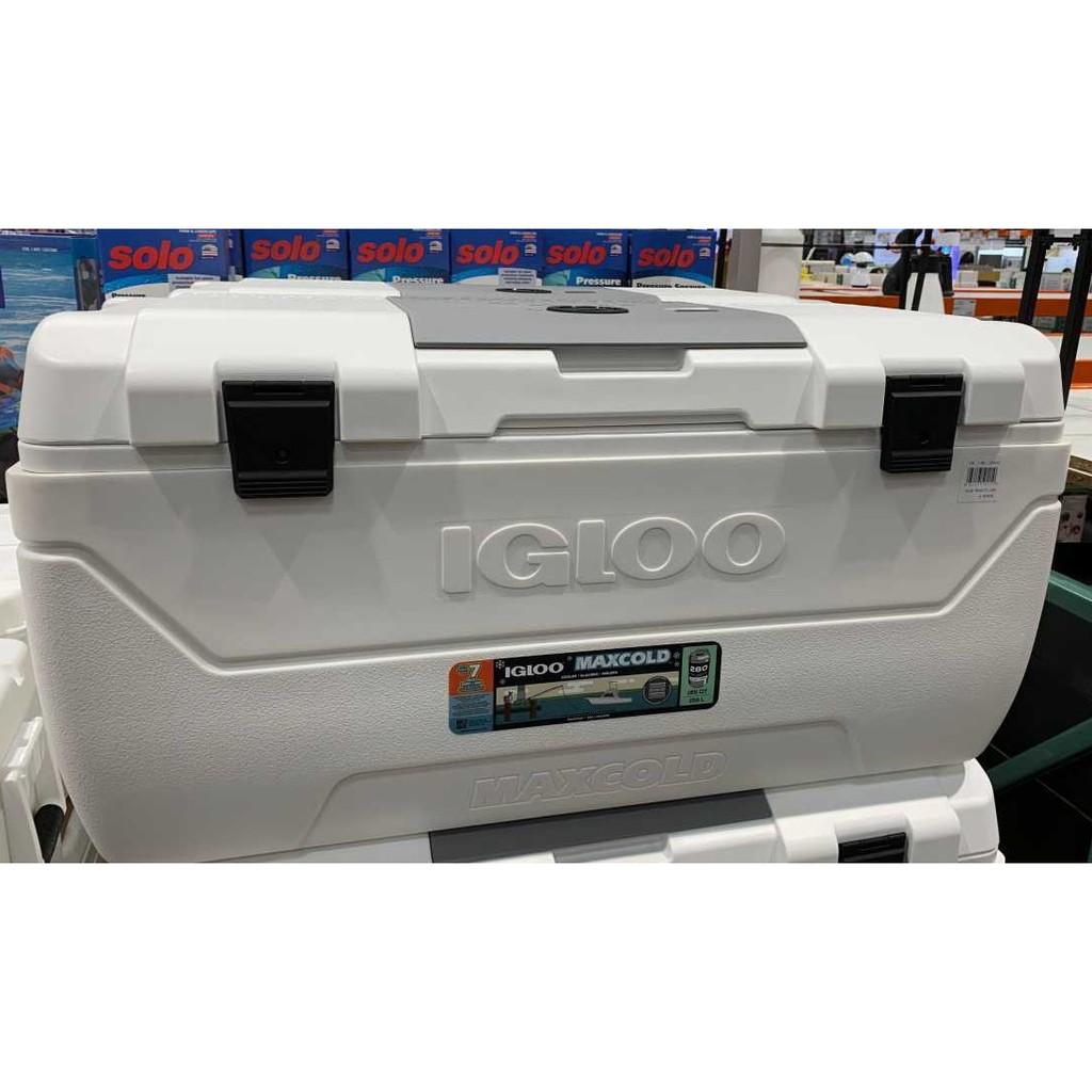 Costco線上宅配 好市多代購 Igloo 美國製38公升/95公升滾輪式冰桶/156公升商用冰桶 行動冰箱 釣魚冰桶