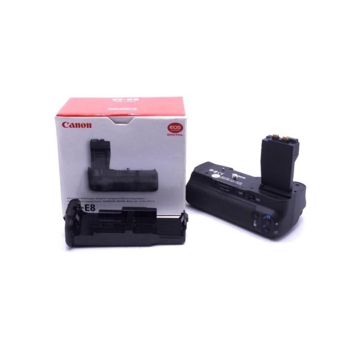 【台中青蘋果3C】Canon BG-E8 二手 電池手把 650D 600D 550D 適用 #18345
