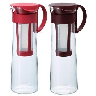 附發票【咖啡魂】日本製 HARIO 咖啡沖泡壺 玻璃壺 咖啡壺 浸漬式咖啡 紅色 咖啡色 MCPN-14 1000cc
