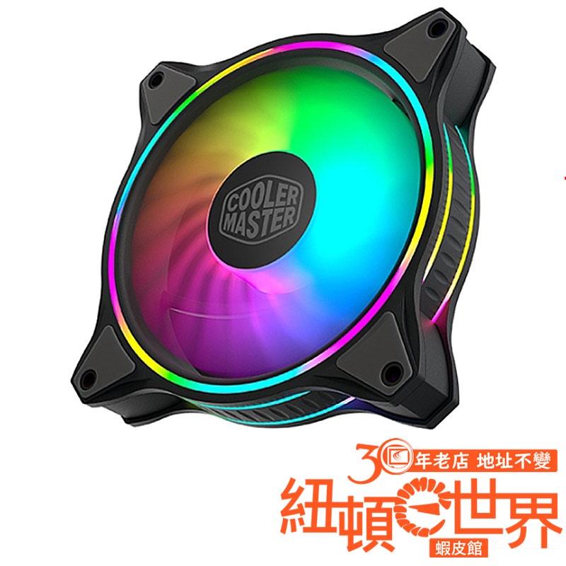 Cooler Master 酷碼 MF120 HALO 黑色 A.RGB 12CM 風扇 紐頓e世界