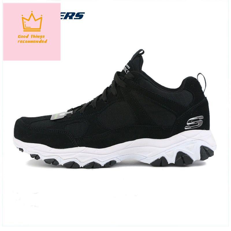 戶外靴 登山鞋  防水登山鞋  透氣登山鞋 Skechers斯凱奇男鞋新款低幫輕便訓練舒適運動鞋休閑鞋666126