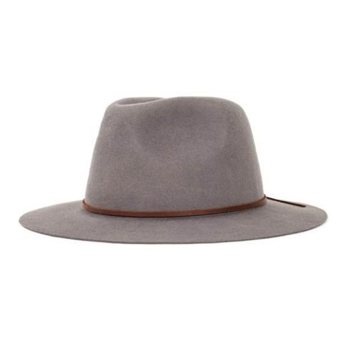 Brixton Wesley Fedora 紳士帽 (灰)《Jimi Skate Shop》