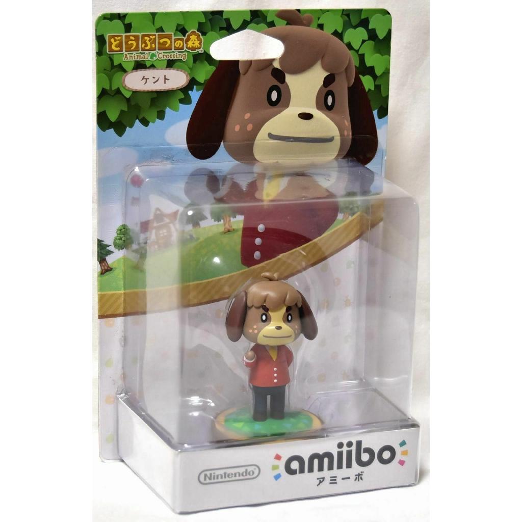 Nintendo Amiibo Kent Animal Crossing New Leaf 3ds Wii U Swit