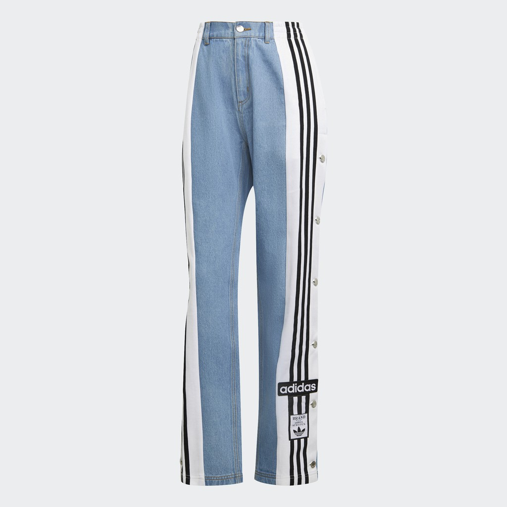 adidas DENIM ADIBREAK 運動長褲 女 H59020