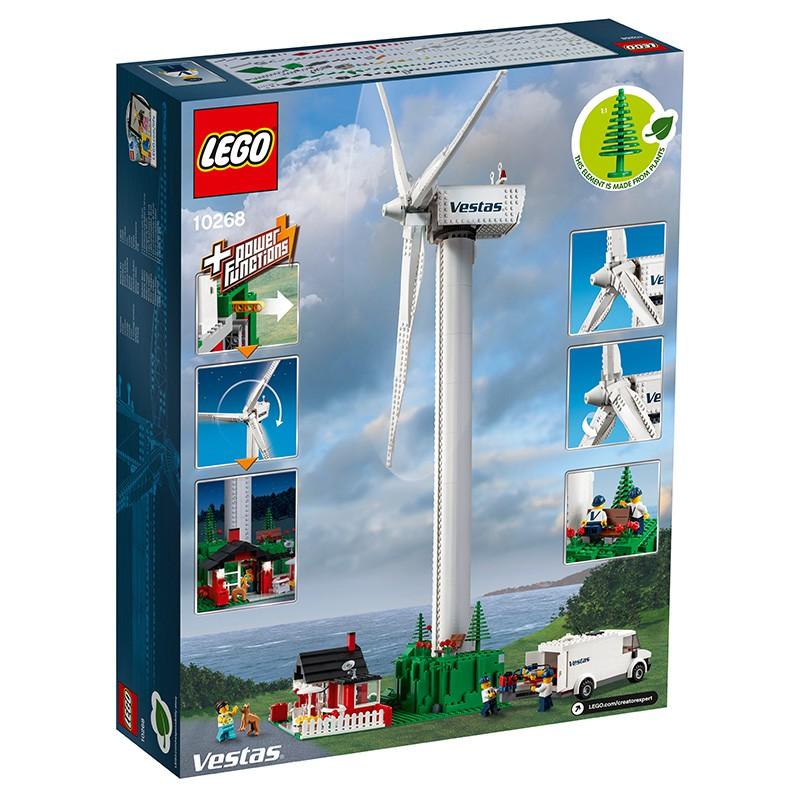 LEGO樂高積木創意百變10268維斯塔斯大型風車發電機成人拼裝14歲