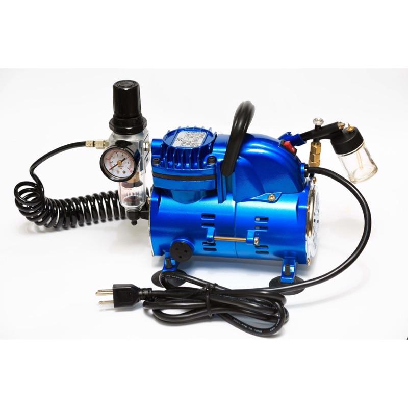 我是台灣製造 現貨供應 ※超激推※模型美工專用無油式小型打氣機 空壓機 1/6HP 110V (不含噴筆)