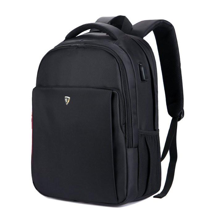 SUMDEX 防盜 USB充電 防潑水 可插拉桿 多功能 16吋 商務 電腦後背包 後背包 PON-1304 加賀皮件