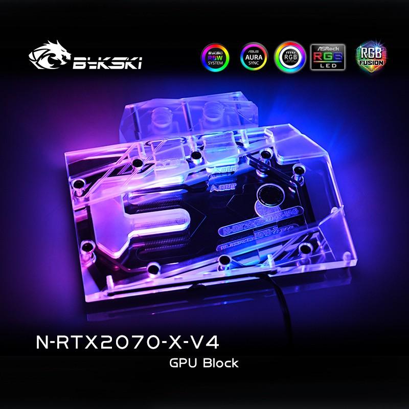 適用於 NVIDIA RTX2070 創始人版 / 參考版 / EVGA 2060 / GTX1660Ti 全蓋 GPU