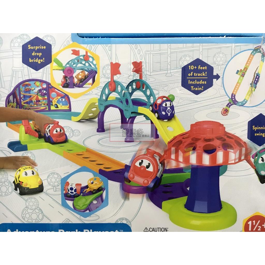 OBALL 洞動車冒險公園遊戲組 小火車造型洞動車 訓練抓力及認知能力 安全玩具 COSTCO 代購 好市多