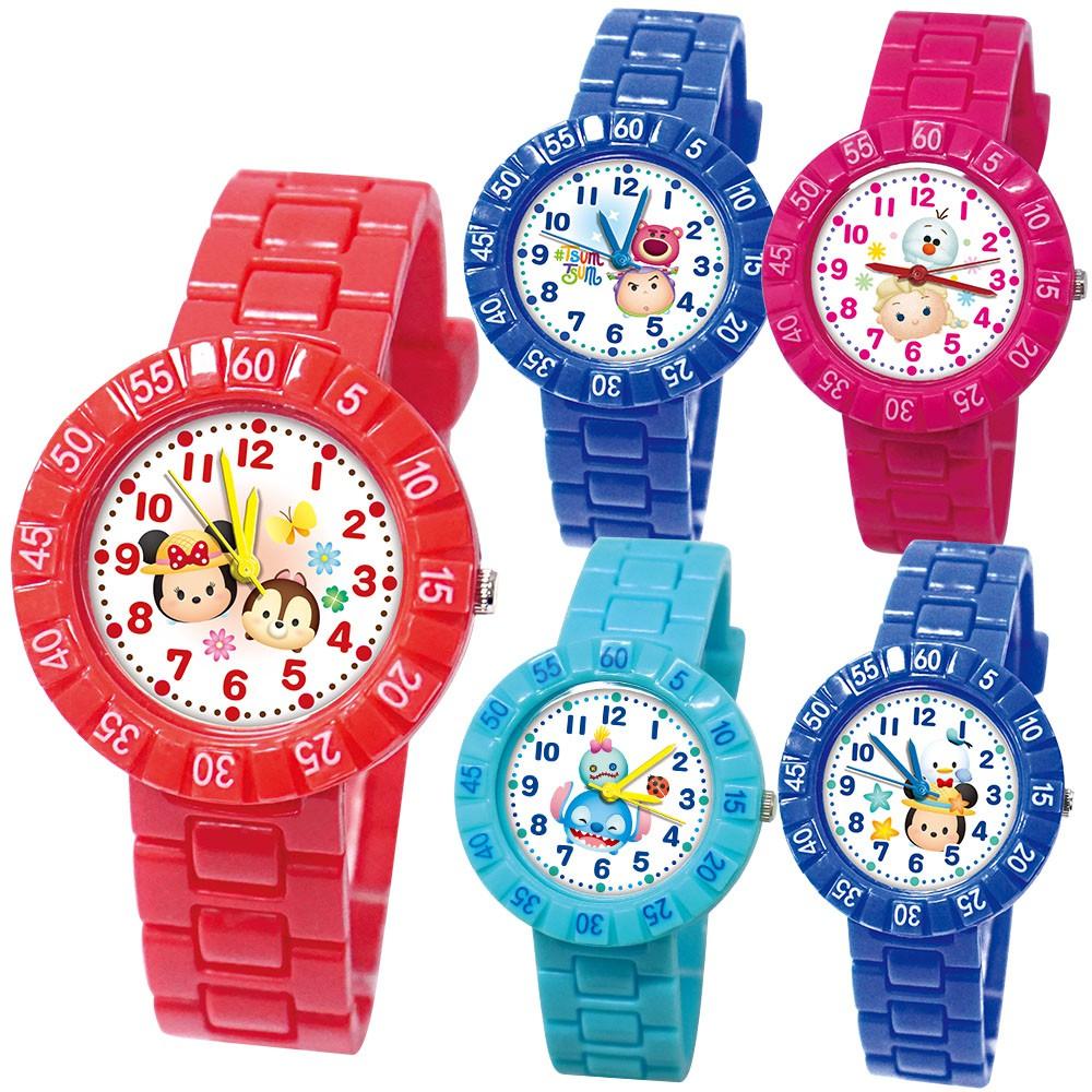 【Disney迪士尼】TSUMTSUM俏皮轉圈手錶_5款任選