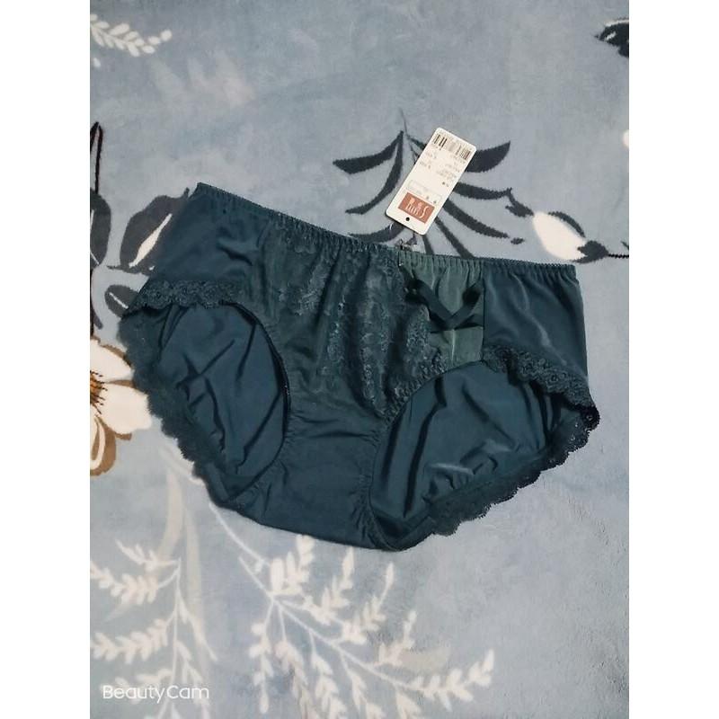 【華歌爾】wacoal莎薇女伶低腰三角褲(深綠藍)-L號XL號
