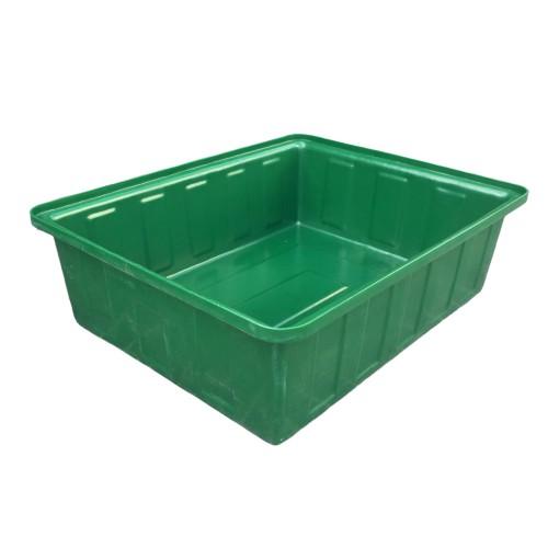 【特價出清商品】養殖桶 綠色1個 250L 方型桶 烏龜養殖桶 台中門市