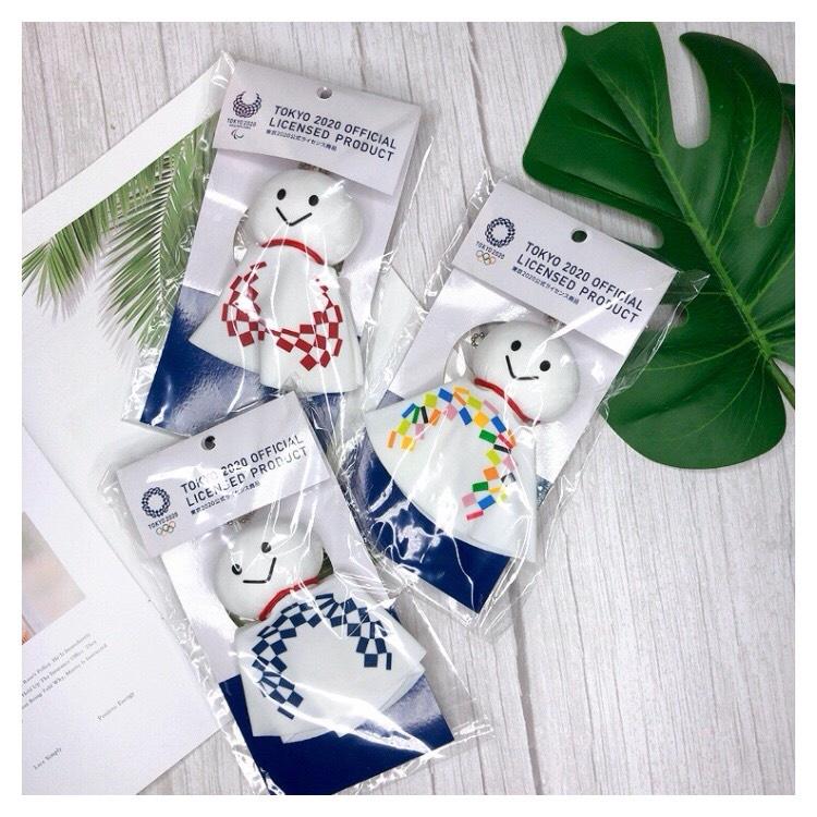 【創樂門】現貨🇯🇵 2020 東奧 東京奧運 晴天娃娃 吊飾 鑰匙圈 TOKYO OLYMPICS 紀念品 限定 帕運