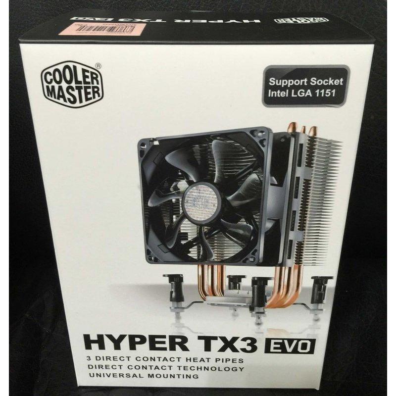 點子電腦-北投.◎酷碼 Cooler Master Hyper TX3 EVO◎塔型熱導管 CPU散熱 699元含運