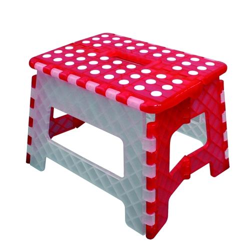 順發 SUNFAR FS-016RW 止滑摺合椅 紅白色 台灣製造