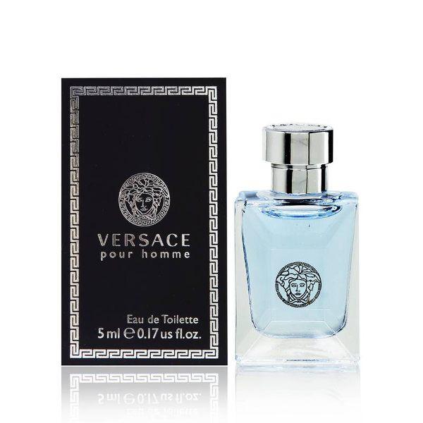 <現貨>100%正品 Versace凡賽斯經典男性淡香水 5ml 【 一夜香水】